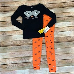 NWT Carter's Cat Pajamas